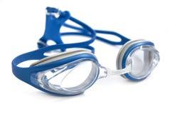 Zwemmende Beschermende brillen stock foto