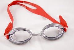 Zwemmende beschermende brillen Royalty-vrije Stock Afbeelding
