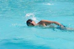 Zwemmende mens Stock Fotografie