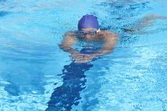 Zwemmer stock foto