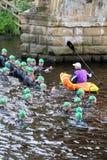 Zwemt de gezonde oefening van de triatlon triathlete sport Stock Afbeeldingen