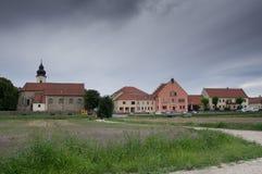 Zwentendorf-Dorf Lizenzfreies Stockfoto