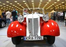 Zwerghuhn 60 das Auto im Jahre 1938 hergestellt Lizenzfreie Stockbilder