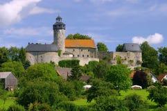 Zwernitz slott Arkivfoton