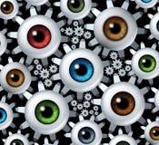 Związany wzrok Zdjęcia Stock