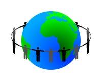 związek globalny Obrazy Royalty Free