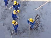 związki się betonowej Fotografia Royalty Free