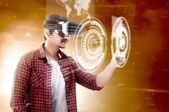 Zwiększająca rzeczywistości technologia zdjęcie stock