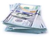 zwiększenie dochodów wykazując sterta pieniędzy Fotografia Royalty Free