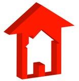 zwiększenie mieszkaniowy rynku ilustracji