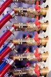 związanych drymb czerwone ustalone klapy Fotografia Stock