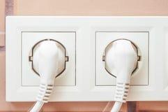 Zwi?zek elektryczni przyrz?da depeszuje nasadki dla budowy i projekta obraz royalty free