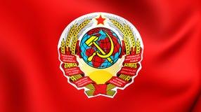 związek radziecki bandery Ilustracja Wektor