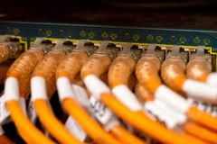 związków sieci router Obraz Royalty Free