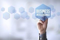 związku pióra dotyka business intelligence Zdjęcia Stock