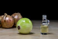 Zwiebel das beste Besondere für Grippe Sirup zugebereitet aus onio Stockbilder