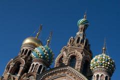 Zwiebel-Turm in Russland stockfotos