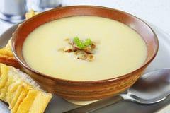 Zwiebelen-Suppe Stockbilder