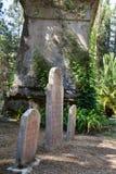 Zwiedzać w Corfu mieście: ciekawego miejsca - antyczny i stary b Zdjęcie Stock