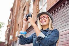 Zwiedzać w nowym mieście Fotografia Stock