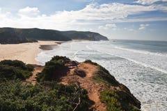 Zwiedzać panoramiczna atlantycka linia brzegowa Obrazy Royalty Free