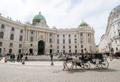 Zwiedzać w Wiedeń Obrazy Royalty Free