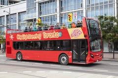 Zwiedzający autobus w Toronto, Kanada Obrazy Stock