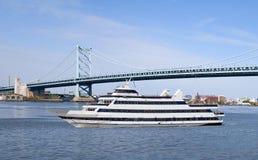 Zwiedzający statek wycieczkowy Zdjęcia Stock
