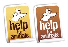 zwierząt pomoc majchery Obraz Stock