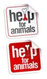 zwierząt pomoc majchery Fotografia Stock