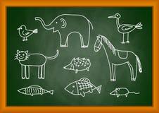 zwierząt target4425_1_ ilustracji