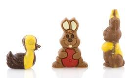 zwierzę czekolada Easter fotografia royalty free