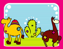 zwierzę kreskówki wektora Obraz Royalty Free