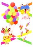 zwierzęcia juggler Obraz Stock