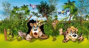 zwierzęcy artyści Obrazy Royalty Free
