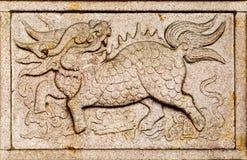 zwierzęcy chiński bóg Zdjęcia Stock
