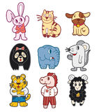 zwierzęcy doodle Zdjęcie Royalty Free