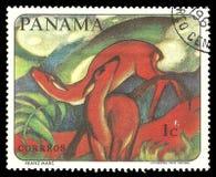 Zwierzęcy obraz Sławnym malarzem Obrazy Stock