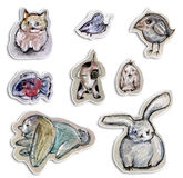 zwierzęcy rysunek Obraz Stock