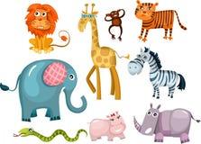 zwierzęcy set Zdjęcia Stock