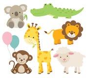 zwierzęcy set royalty ilustracja