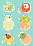 zwierzęcy set Fotografia Stock