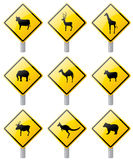 Zwierzęcy skrzyżowanie ilustracja wektor