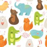 Zwierzęcy tło Obraz Stock