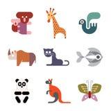 Zwierzęta, ptaki i ryba, Zdjęcie Stock