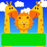 zwierzęta szczęśliwi Obrazy Royalty Free