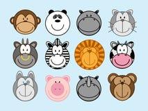 Zwierzęta ustawiający ilustracji