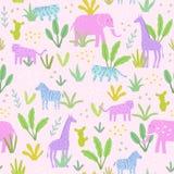 Zwierzęta w dżungli Zdjęcia Stock