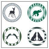Zwierzęce odznaki Obraz Stock