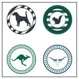 Zwierzęce odznaki Obrazy Stock